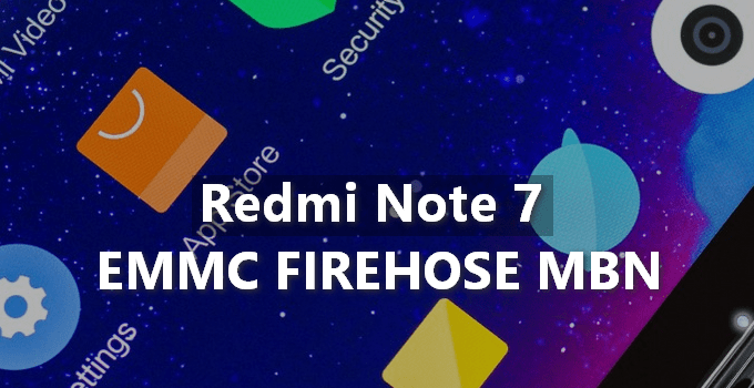 Patched Prog EMMC Firehose MBN for Redmi Note 7 (Lavender) 5