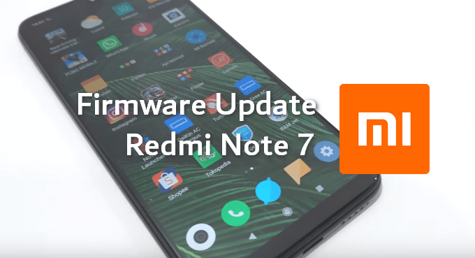 Redmi Note 7 Firmware All Versions (Flash-able ZIP Files) 1