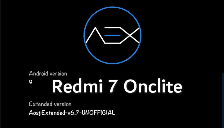 AospExtended ROM AEX v6.7 for Redmi 7 (Download + Install Guide) 7