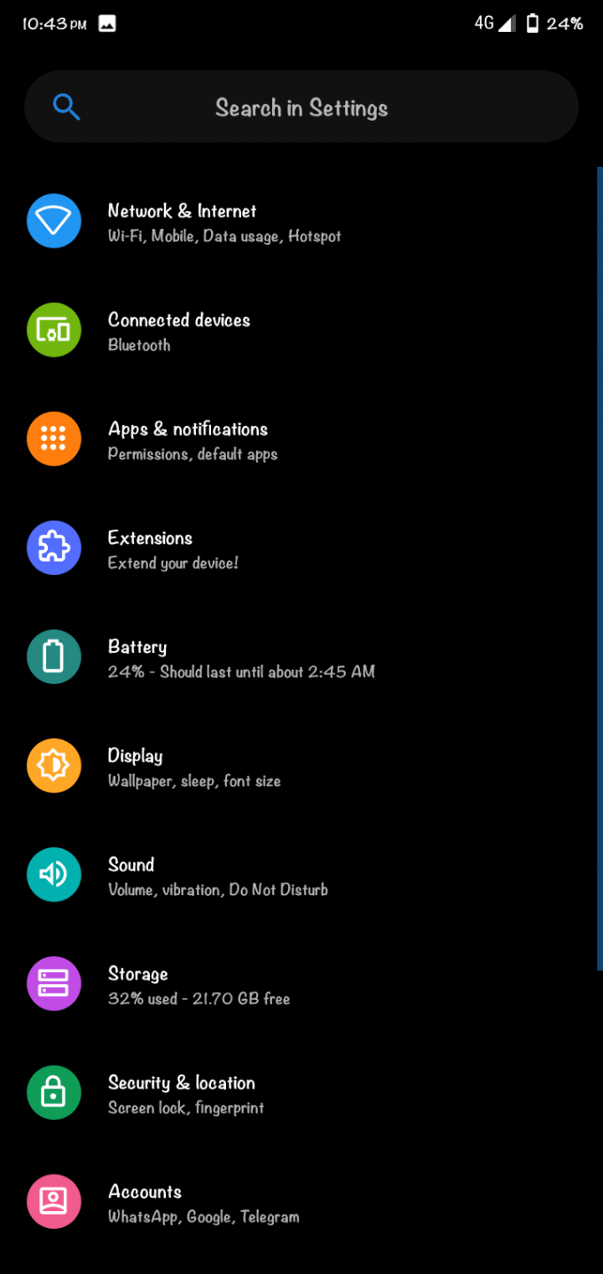 AospExtended ROM AEX v6.7 for Redmi 7 (Download + Install Guide) 8