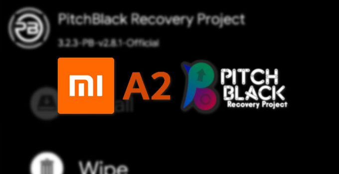 Steps to Flash Pitch Black TWRP on Mi A2 (jasmine_sprout) 3