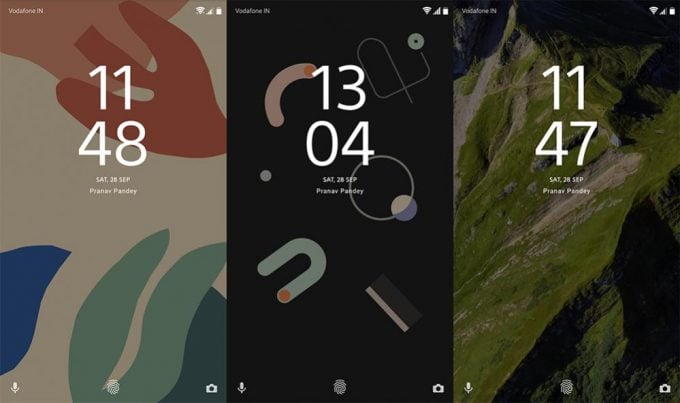 Ported Google Pixel 4 Live Wallpapers APK for Xiaomi Phones 1