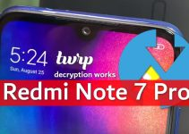 Unofficial TWRP for Redmi Note 7 Pro: Decryption, Wrappedkey, system_root Work! 2