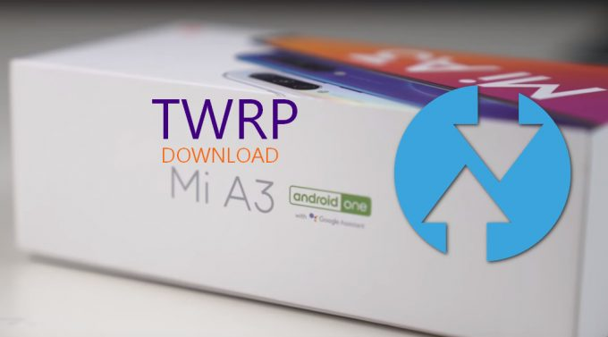 TWRP for Mi A3: Image and Installer File (Direct Download) 1