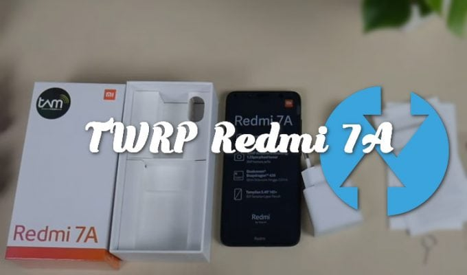 Unofficial TWRP v3.3.1-0 for Redmi 7A codename Pine 1