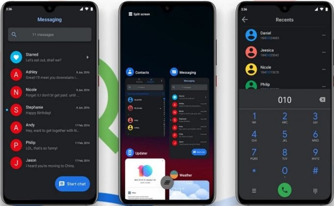 X Android 10 MIUI Theme Transforms Xiaomi Phones Android Pie to Android Q 4