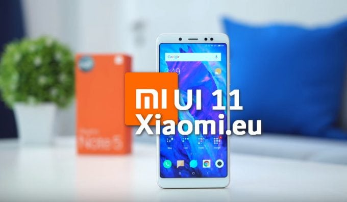 Xiaomi eu MIUI 11 for Redmi Note 5: Download and Install