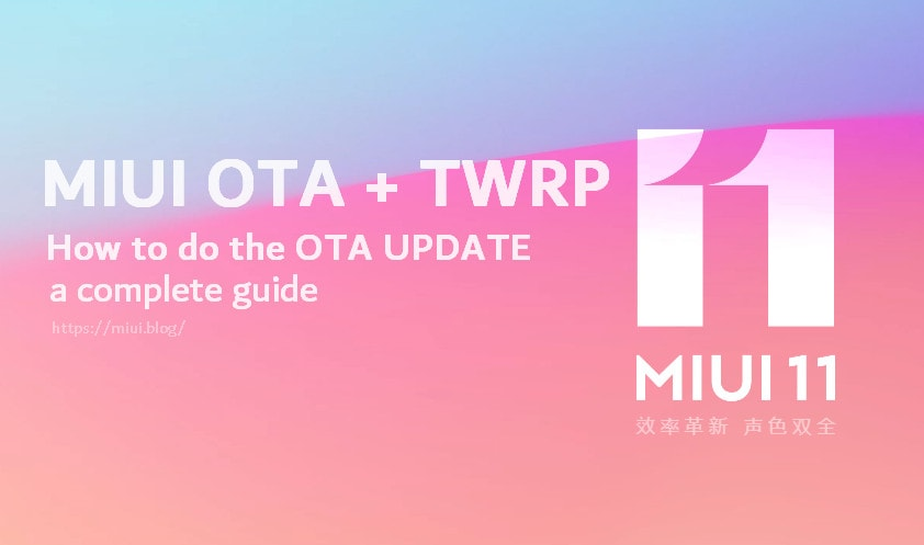 Doing An OTA Update on MIUI with TWRP Recovery 4