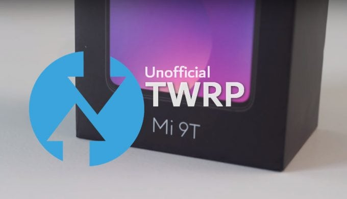 TWRP v3.3.1-3 for Mi 9T (Redmi K20) with VBMeta: Unofficial Build by Mauronofrio 1