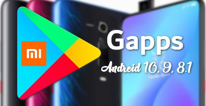 OpenGapps for Android 10, 9, 8.1 on Xiaomi and Redmi Phones 12