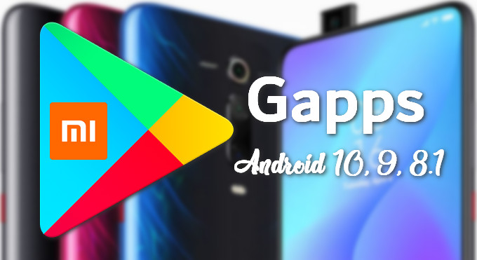 OpenGapps for Android 10, 9, 8.1 on Xiaomi and Redmi Phones 16