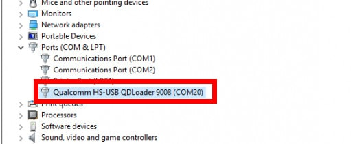 Qualcomm QDLoader HS-USB Drivers Setup File (32/64bit) 8