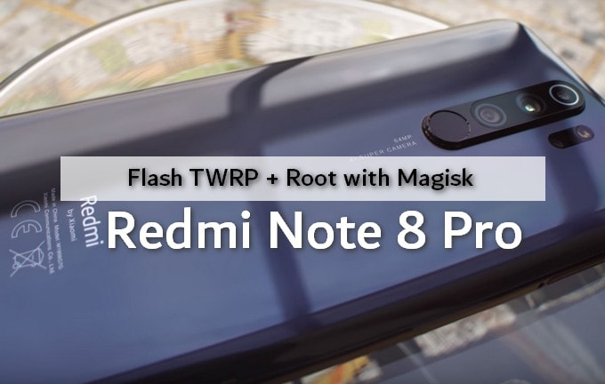 Flashing TWRP and Rooting Redmi Note 8 Pro 1