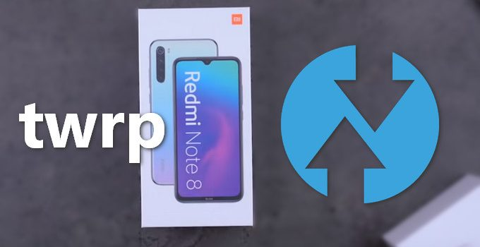TWRP v3.3.x for Redmi Note 8 (Global & China) 9