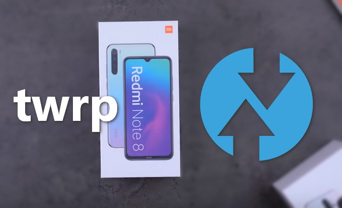 TWRP v3.3.x for Redmi Note 8 (Global & China) 3