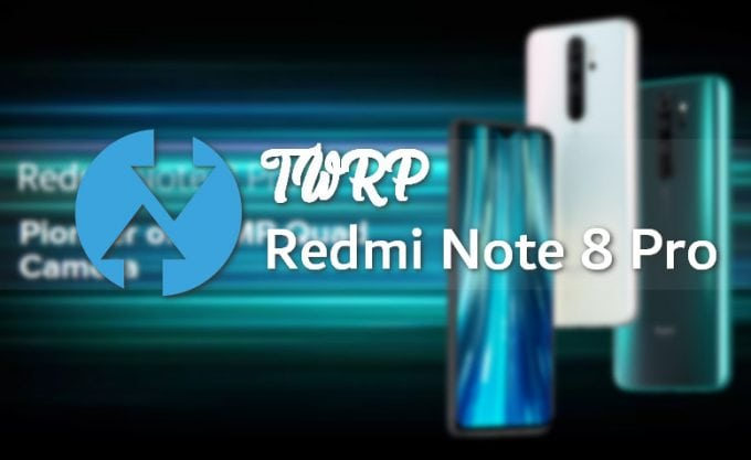 Flash-able TWRP Recovery for Redmi Note 8 Pro codename Begonia 1