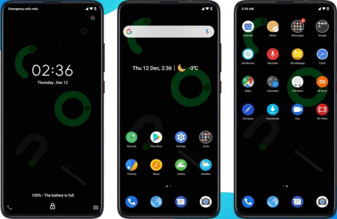 Android 10 MIUI 11 Theme Brings Dark and Light Mode 1