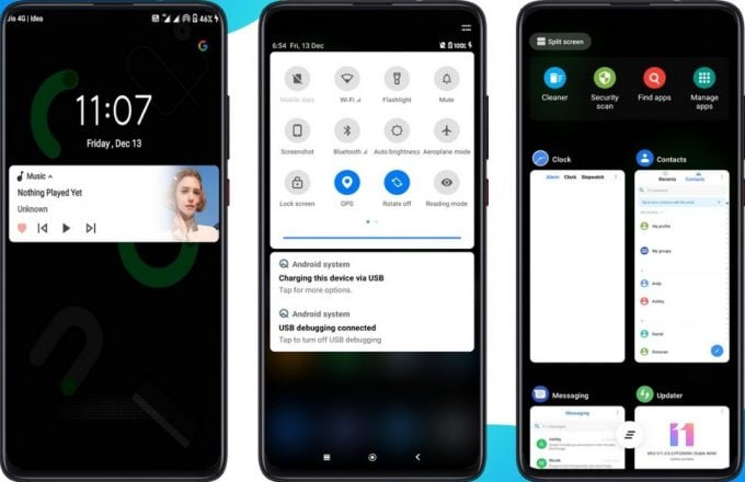 Android 10 MIUI 11 Theme Brings Dark and Light Mode 2