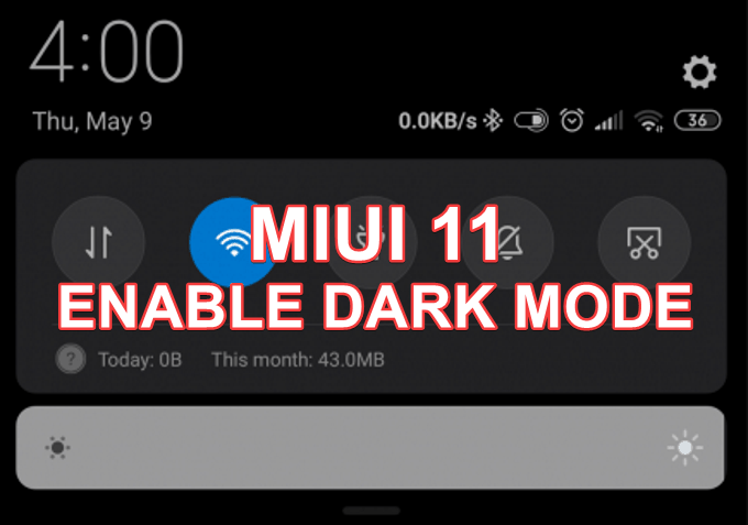 Quick Trick to Enable Dark Mode on Any MIUI 11 Devices 1