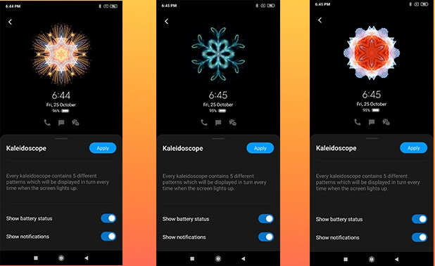 Steps to Enable MIUI 11 AOD on Any Xiaomi Mi, Redmi, and Redmi Note Phones 7
