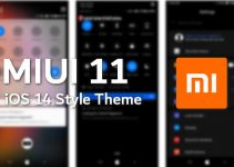 iOS 14 MIUI 11 Theme with Dual Dark Mode (MTZ) 5