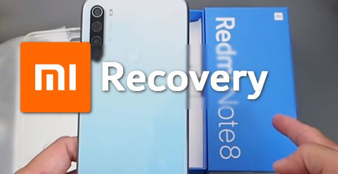 Stock MIUI Recovery for Redmi Note 8 (Codename Ginkgo) 3