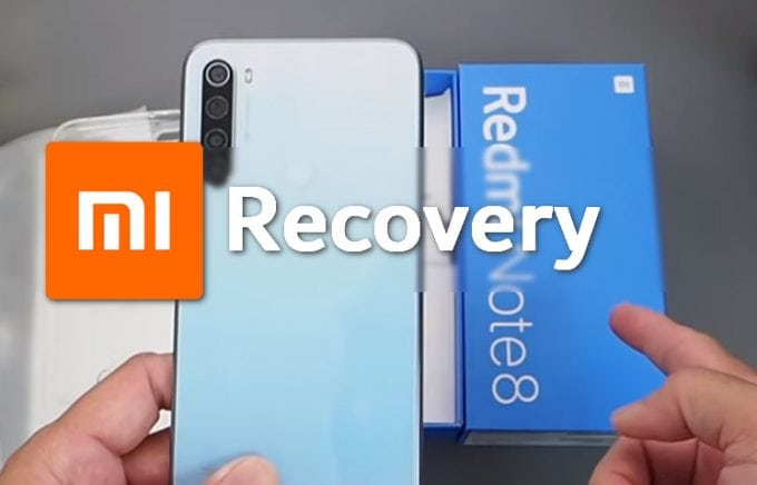 Stock MIUI Recovery for Redmi Note 8 (Codename Ginkgo) 1