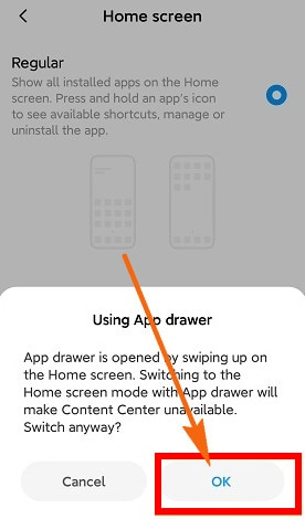 MIUI 11 Tips: Activate App Drawer 5