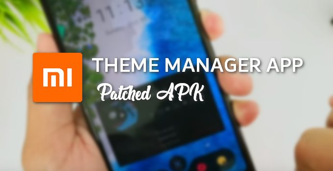 Patched MIUI Themes Manager (APK Download) 1