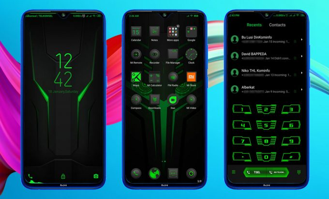 Black Shark Helo, The Best MIUI 11 Theme for Gamers (MTZ) 1