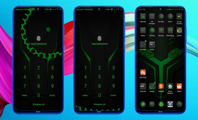 Black Shark Helo, The Best MIUI 11 Theme for Gamers (MTZ) 3