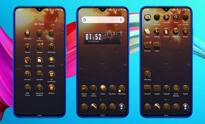 DC Justice League MIUI 11 Theme (Download .MTZ File) 2