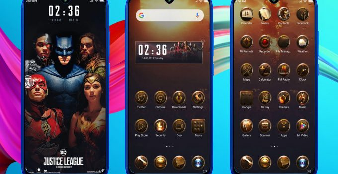 DC Justice League MIUI 11 Theme (Download .MTZ File) 9