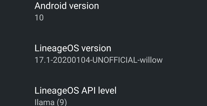 LineageOS 16.0 and 17.1 for Redmi Note 8/8T Download Links (Unofficial) 9