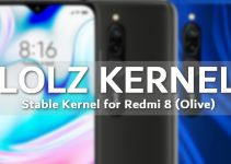 LOLZ: The First and Stable Custom Kernel for Redmi 8 (Olive) 7