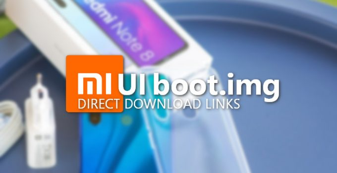 MIUI 11 Boot Image for Redmi Note 8 (Codename Ginkgo) 2