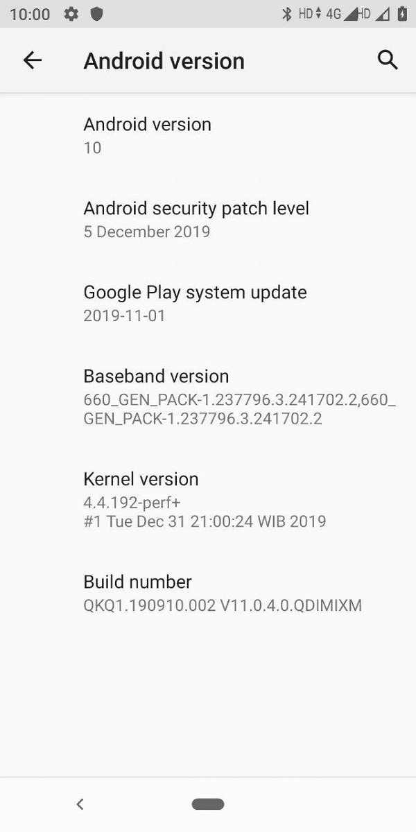 Android One v11.0.4.0.QDIMIXM for Mi A2 Update: Now Android 10.0 Q 5