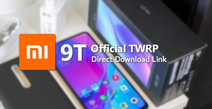 Official TWRP is Coming to Mi 9T (Redmi K20), Download Inside 1