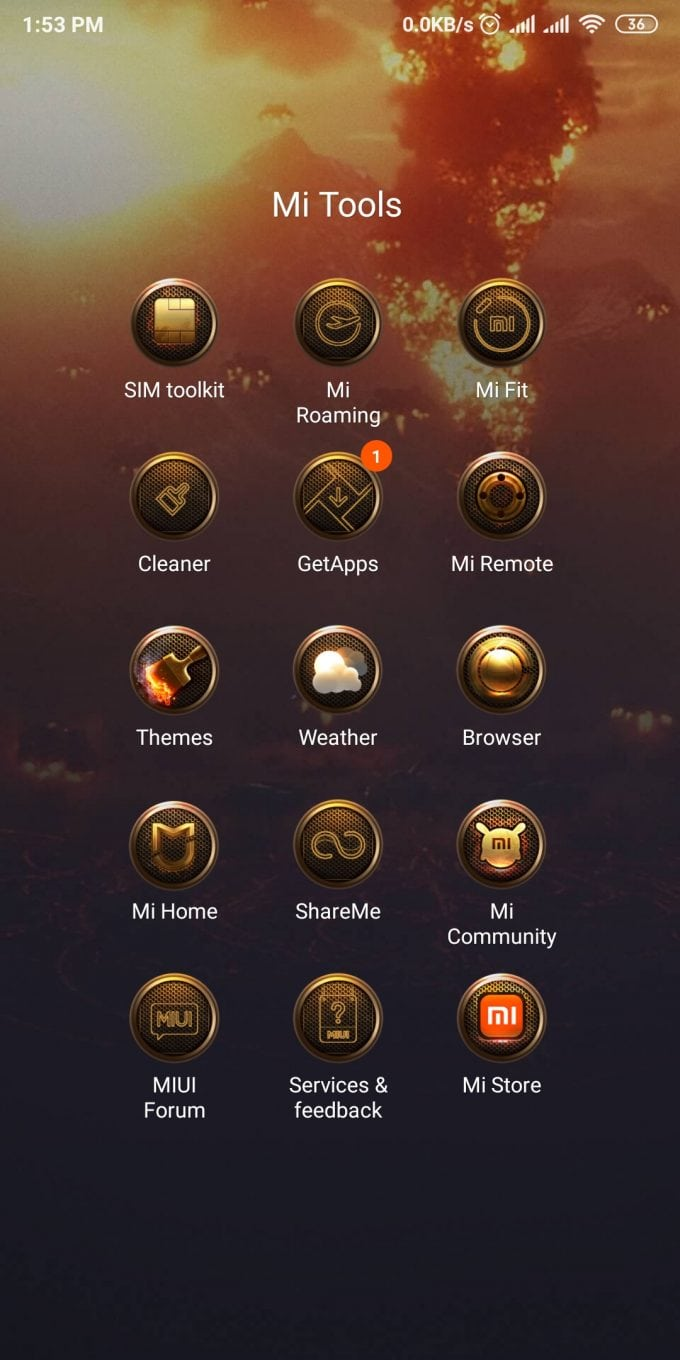 DC Justice League MIUI 11 Theme (Download .MTZ File) 4