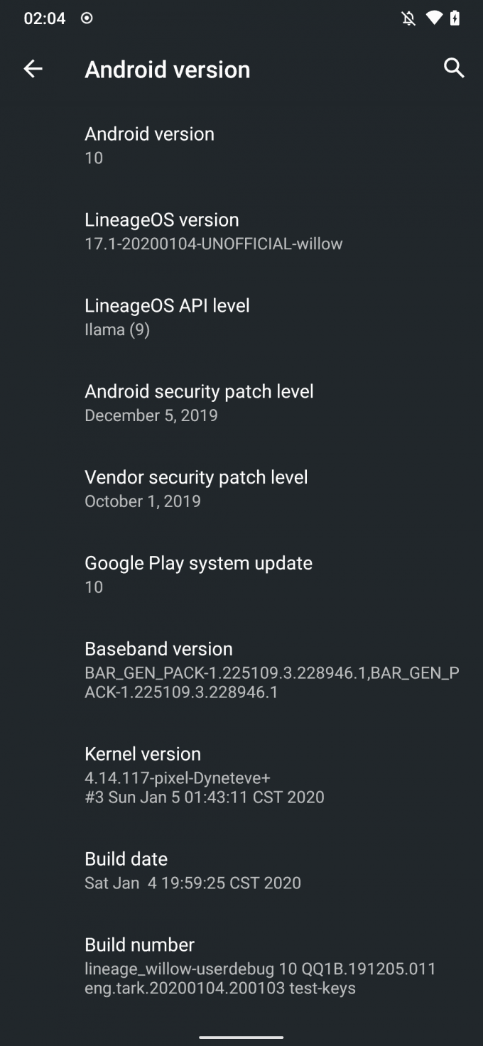 Flashing LineageOS on Redmi Note 8/8T (Android 10.0 and 9.0) 6
