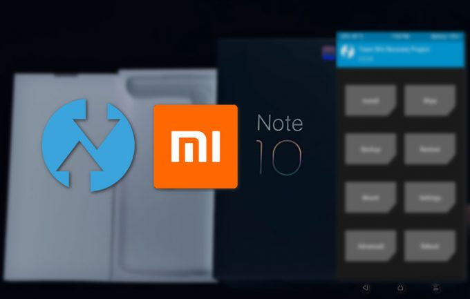 TWRP v3.3.1-0 for Mi Note 10 (CC 9 Pro): Unofficial, Direct Links 1