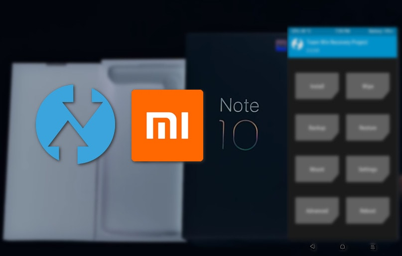 TWRP v3.3.1-0 for Mi Note 10 (CC 9 Pro): Unofficial, Direct Links 4