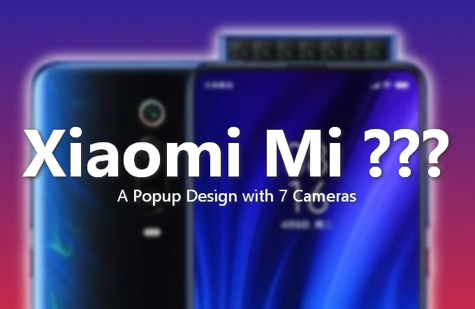 Xiaomi Phone with 7 Cameras Is About To Come, A Patent Shows 1