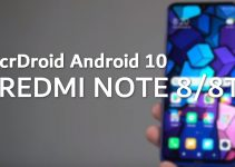 Steps to Flash crDroid Android 10 on Redmi Note 8/8T 4