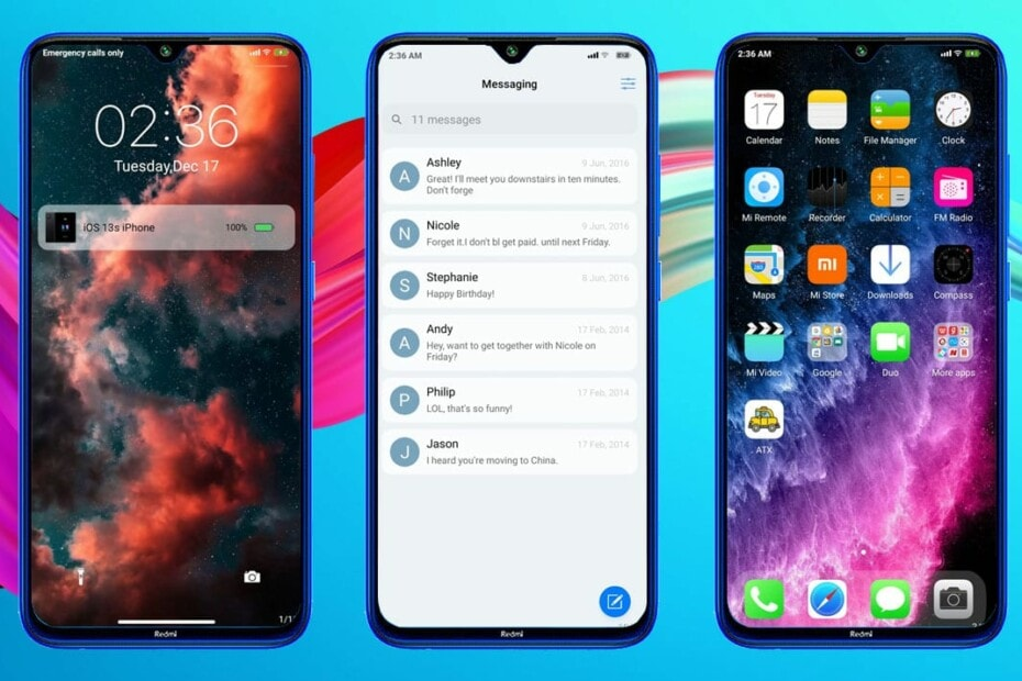 iOS 13.1S: The Best Theme to Transform MUI 11 to iPhone iOS (Download MTZ) 10