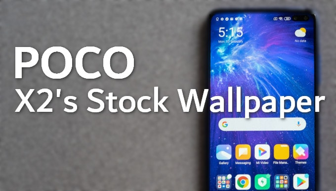 Grab These Stunning Poco X2 Default Wallpapers 6