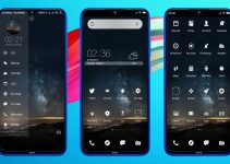 Starry Night - A Cool Monochromatic MIUI 11 Theme (MTZ) 11