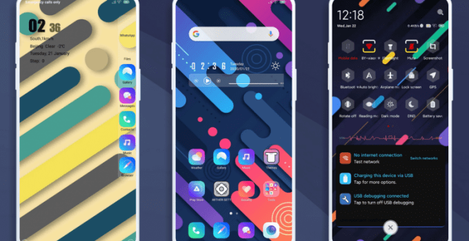 Whiter Colourful MIUI 11 Theme - Download MTZ 5