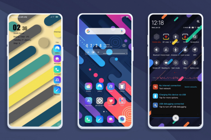 Whiter Colourful MIUI 11 Theme - Download MTZ 1