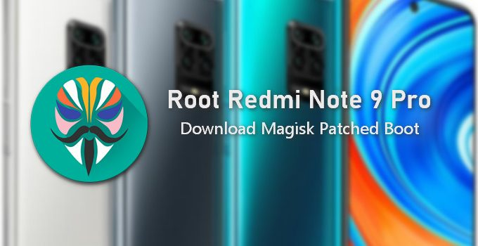 Patched Boot Image for Redmi Note 9 Pro (9S) 2